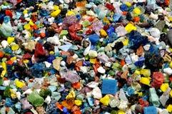 Pierres colorées Image libre de droits