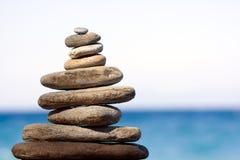 pierres d'équilibre photo libre de droits
