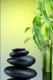 Pierres de basalte de zen Photo libre de droits
