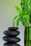 Pierres de basalte de zen Photographie stock libre de droits