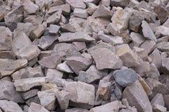 Pierres de construction Image stock
