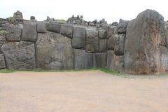 Pierres de coupe de pierre de taille de Machu Picchu Photographie stock libre de droits
