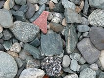 Pierres de fjord images libres de droits