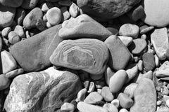 Pierres de fleuve Image libre de droits