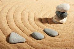 pierres de jardin Photographie stock libre de droits