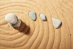pierres de jardin Image stock