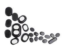 pierres de massage réglées Images stock