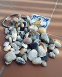 Pierres de mer Image libre de droits