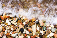 Pierres de mer Photographie stock libre de droits
