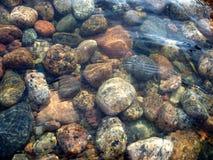 Pierres de mer Photos libres de droits