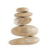 Pierres de zen images libres de droits