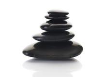 Pierres de zen ou de station thermale photographie stock