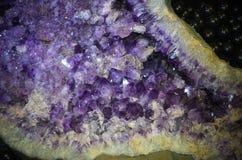 Pierres en cristal colorées Photographie stock