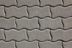 Pierres grises de béton d'étage Images libres de droits
