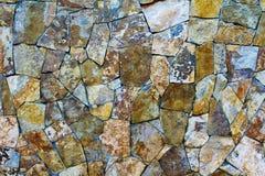 Pierres naturelles de mur extérieur images libres de droits