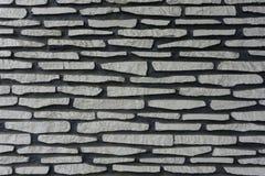 Pierres naturelles empilées texturisées avec la photo de couleur grise Bogor rentré Indonésie Photographie stock libre de droits