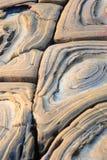 Pierres spéciales découvertes dans Jilong, Taiwan Image stock
