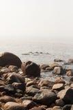 Pierres sur la plage Photographie stock libre de droits