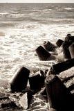 Pierres sur la plage Images stock