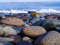 Pierres sur la plage photo libre de droits