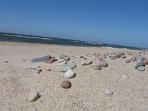 Pierres sur la plage Photo stock
