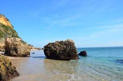Pierres sur la plage Image libre de droits