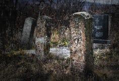 Pierres tombales Photo stock