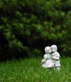 Pierres tombales très vieilles aux Etats-Unis méridionaux. Images stock