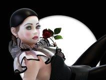 Pierrette, 3d CG Immagini Stock Libere da Diritti