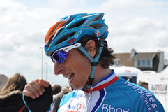 Pierrick Fedrigo. For Bbox Bouygues, won the fifth stage of the 4 jours Stock Images