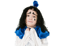 Pierrot Royalty Free Stock Image