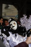 Pierrot during Carnival of Limoux Royalty Free Stock Photo