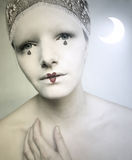 Pierrot Lunaire Royalty Free Stock Photo
