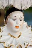 Pierrot uitstekende lamp Royalty-vrije Stock Afbeeldingen