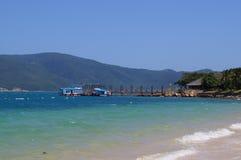 Piers auf der Insel Lizenzfreie Stockfotografie