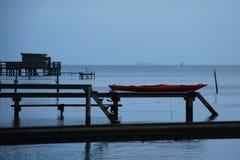 Piers in Copenhagen Stock Photo