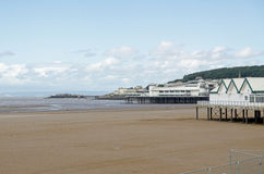 Piers at Weston-Super-Mare, Somerset Stock Images