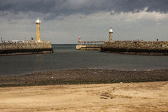 Piers at Whitby Stock Images