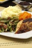 piersi delisious gość restauracji dziękczynienia indyk Zdjęcie Royalty Free