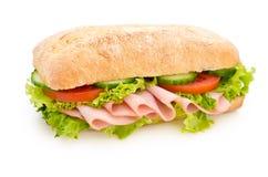 piersi kurczaka kanapka Zdjęcie Stock