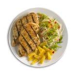 piersi kurczaka klusek ananasa teryaki Zdjęcie Stock