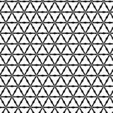 Pierwotnych geometrii sacra retro wzór z liniami i okręgami Zdjęcia Royalty Free