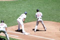Pierwsza Liga Baseballa Zdjęcie Royalty Free