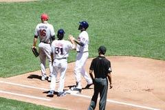 Pierwsza Liga Baseballa Fotografia Royalty Free