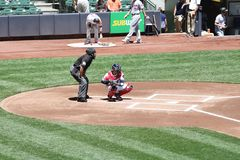 Pierwsza Liga Baseballa Fotografia Stock