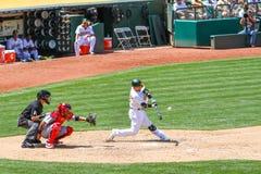Pierwsza Liga Baseballa - Homerun huśtawka obrazy stock