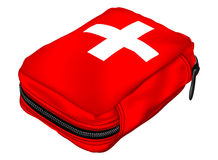 Pierwsza Pomoc zestaw; Sprzęt Medyczny ilustracja wektor