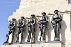 Pierwsza Wojna Światowa pomnik Fotografia Royalty Free
