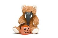 pierwsze Halloween ii jest teddy Zdjęcia Royalty Free