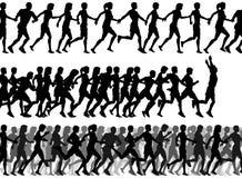 pierwszoplanowi biegacze ilustracji